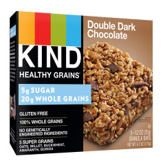 KIND DOUBLE DARK CHOCOLATE GRANOLA BAR 5 PC 6.2 OZ