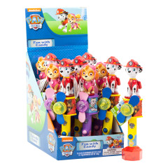 PAW PATROL LIGHT UP FAN WITH CANDY 0.35 OZ