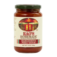 RAO'S MARGHERITA PIZZA SAUCE 13 OZ JAR