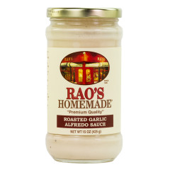RAO'S GARLIC ALFREDO SAUCE 15 OZ JAR