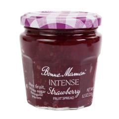 BONNE MAMAN INTENSE STRAWBERRY FRUIT SPREAD 8.2 OZ JAR