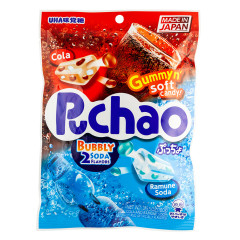 PUCHAO COLA & RAMUNE SODA 3.53 OZ PEG BAG