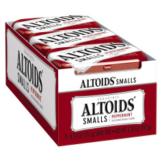 ALTOIDS SMALLS PEPPERMINT MINTS 0.37 OZ TIN