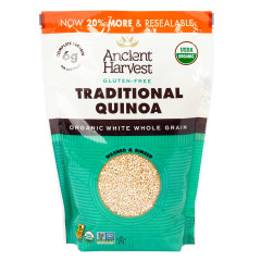 ANCIENT HARVEST GLUTEN FREE TRADITIONAL QUINOA 12 OZ BOX