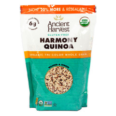 ANCIENT HARVEST GLUTEN FREE HARMONY BLEND QUINOA 12 OZ BOX