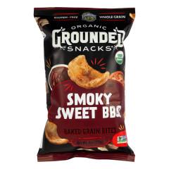 LUNDBERG ORGANIC GROUNDED SMOKEY SWEET BBQ BAKED GRAIN BITES 4 OZ BAG