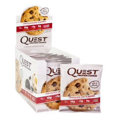 QUEST CHOCOLATE CHIP PROTEIN COOKIES 1.8 OZ