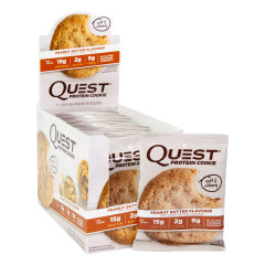 QUEST PEANUT BUTTER PROTEIN COOKIES 1.8 OZ