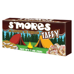 AMUSEMINTS S'MORES TAFFY 7 OZ BOX