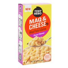 TINY HERO MAQ & CHEESE THREE CHEESE 6.35 OZ BOX