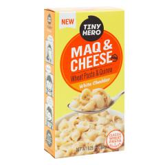 TINY HERO MAQ & CHEESE WHITE CHEDDAR 6.35 OZ BOX