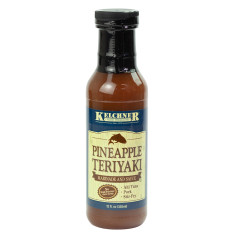 KELCHNER'S PINEAPPLE TERIYAKI MARINADE 12 OZ BOTTLE