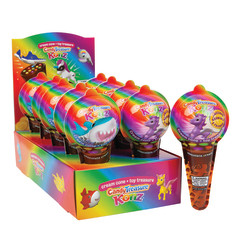 CANDY TREASURE KONZ ICE CREAM CONE WITH TOY SURPRISE
