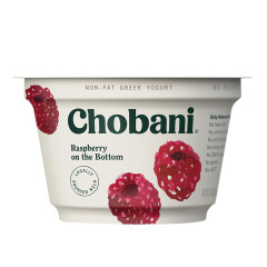 CHOBANI 0% RASPBERRY GREEK YOGURT 5.3 OZ