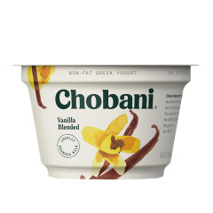 CHOBANI 0% VANILLA GREEK YOGURT 5.3 OZ