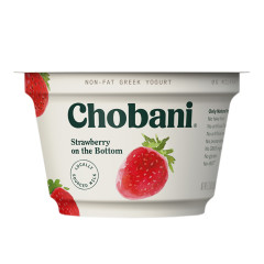 CHOBANI 0% STRAWBERRY GREEK YOGURT 5.3 OZ