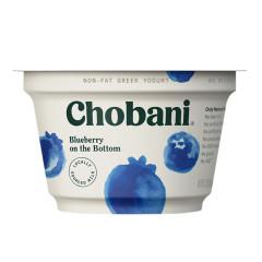 CHOBANI 0% BLUEBERRY GREEK YOGURT 5.3 OZ