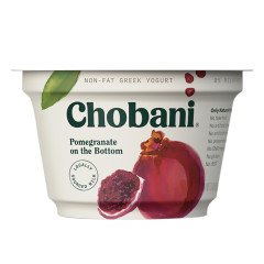 CHOBANI 0% POMEGRANATE GREEK YOGURT 5.3 OZ