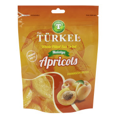 TURKEL APRICOTS 7.05 OZ STAND-UP BAG PK 40/CS