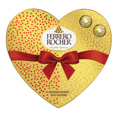 FERRERO ROCHER HEART 24 PC 10.6 OZ GIFT BOX