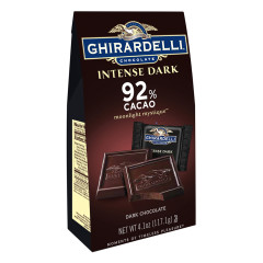 GHIRARDELLI 92% COCOA MOONLIGHT MYSTIQUE INTENSE DARK CHOCOLATE 4.1 OZ BAG