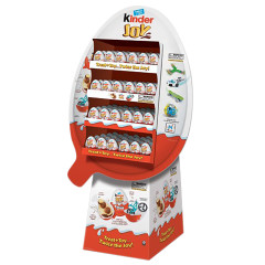 KINDER JOY CHOCOLATE AND TOY SURPRISE 0.7 OZ SHIPPER