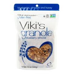 VIKI'S GRANOLA BLUEBERRY ALMOND 12 OZ POUCH