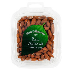 MAPLE VALLEY FARMS RAW ALMONDS 5 OZ
