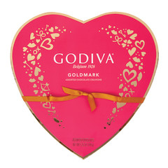 GODIVA 14 PC HEART 5.25 OZ BOX