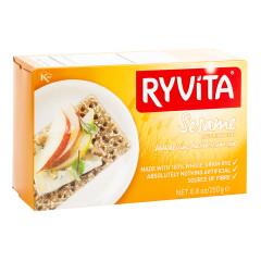 RYVITA SESAME RYE CRISPBREAD 8.8 OZ BOX