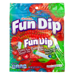 FUN DIP 3.01 OZ PEG BAG