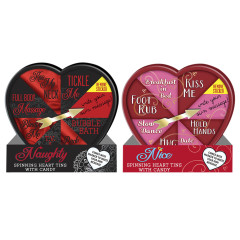 NAUGHTY & NICE HEART SPINNER 1.76 OZ TINS