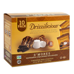 DRIZZILICIOUS DRIZZLE BITE S'MORES 7.4 OZ BAG 10 CT
