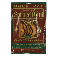 DUCKTRAP SPRUCE POINT PASTRAMI STYLE ATLANTIC SMOKED SALMON 4 OZ