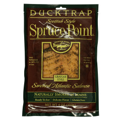 DUCKTRAP SPRUCE POINT GRAVLAX ATLANTIC SMOKED SALMON 4 OZ