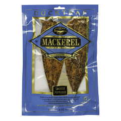 DUCKTRAP PEPPERED SMOKED MACKEREL 6 OZ