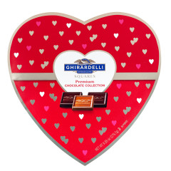 GHIRARDELLI LARGE HEART BOX 7.3 OZ