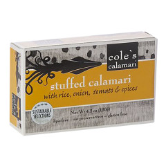 COLE'S STUFFED CALAMARI 4.2 OZ
