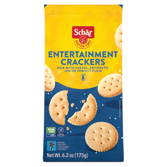 SCHAR GLUTEN FREE ENTERTAINMENT CRACKERS 6.2 OZ