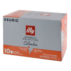 ILLY COLBIA ARABICA KCUPS ORANGE 10 PC 4.1 OZ BOX