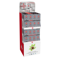 ILLY K-CUP FLOOR DISPLAY 4.1 OZ SHIPPER