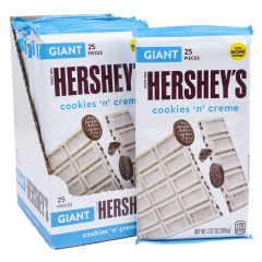 HERSHEY'S COOKIES'N'CREME GIANT BAR 6.5 OZ