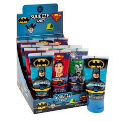DC COMICS SQUEEZE CANDY 2.1 OZ