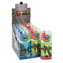 DC COMICS BATTLE CANDY TWO TREAT SPRAY AND POWDER 0.56 OZ