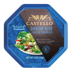 CASTELLO BLUE CHEESE CRUMBLES 4 OZ