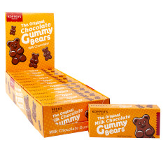 KOPPERS MILK CHOCOLATE GUMMY BEARS 2.5 OZ THEATER BOX