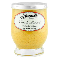 BRASWELL'S CHIPOTLE MUSTARD 9 OZ JAR *FL DC ONLY*