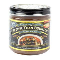 BETTER THAN BOUILLON FISH 8 OZ