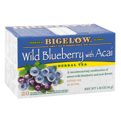 BIGELOW WILD BLUEBERRY ACAI TEA 20 CT BOX