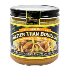 BETTER THAN BOUILLON REDUCED SODIUM CHICKEN 8 OZ JAR